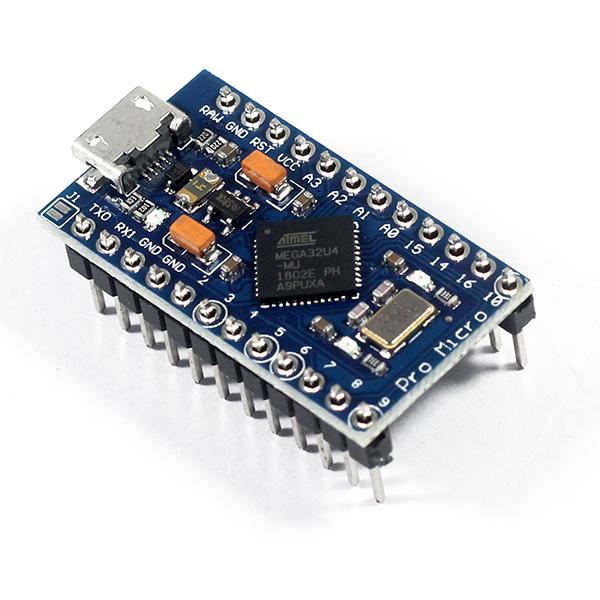 KIT Arduino Pro Micro 5V/16Mhz ATmega32U4
