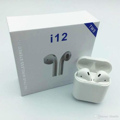 Tai nghe Bluetooth Inpods i12 - Cảm biến vân tay, chống nước, phụ kiện điện thoại HÀNG CHÍNH HÃNG SINO.