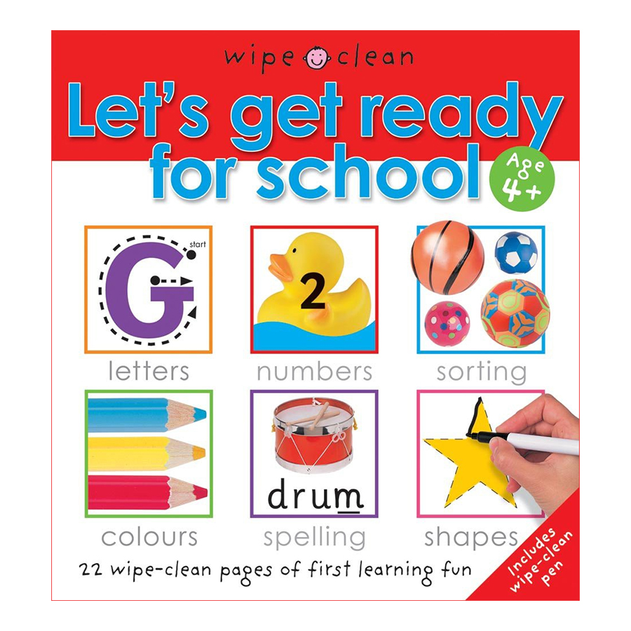Let'S Get Ready for School: Let'S Get Ready for School - Let's Get Ready For School (Paperback)