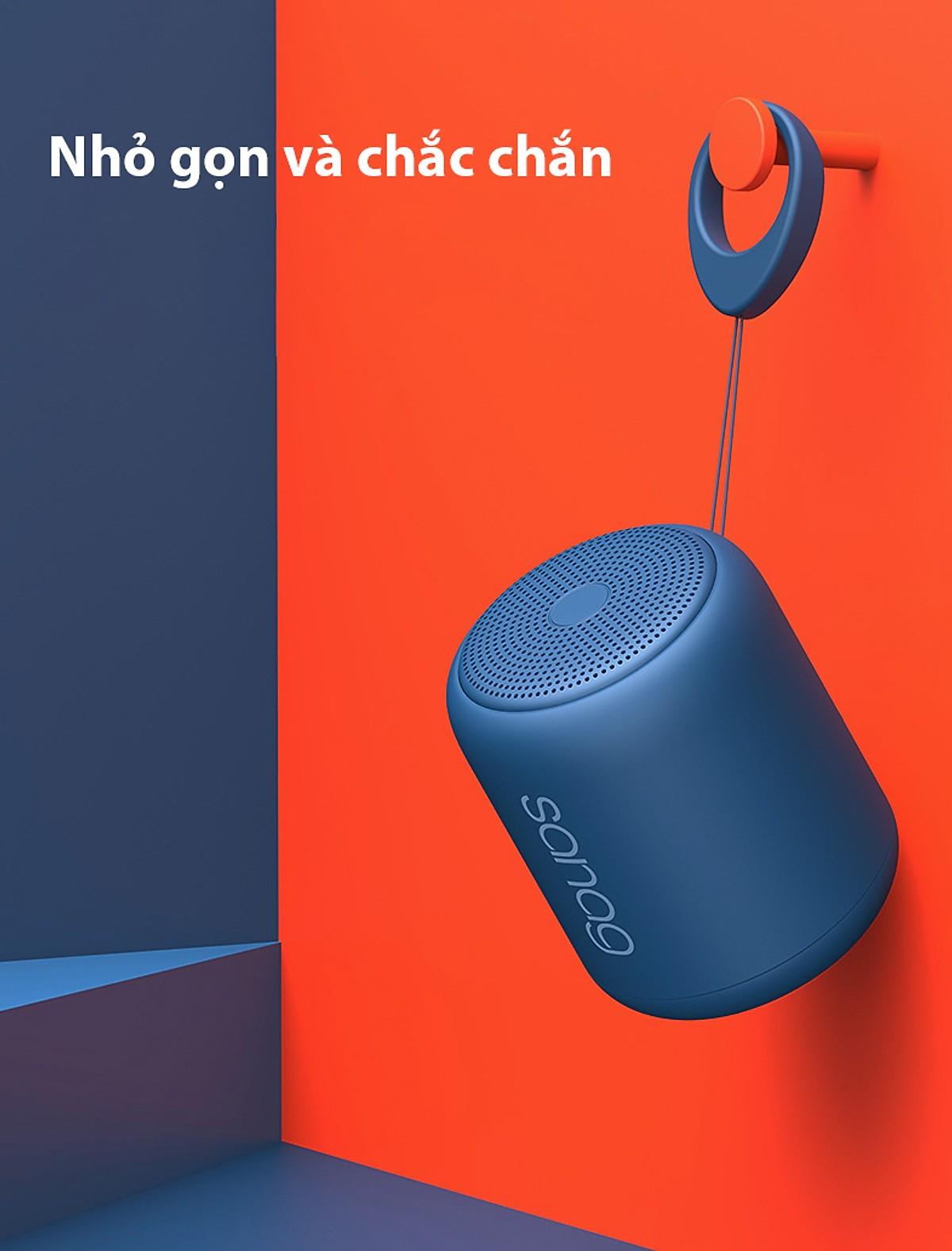 Loa Bluetooth Sanag X6 Plus Bản Mở Rộng, chống nước IPX5. Hỗ Trợ Kết Nối Bluetooth 5.0, Thẻ Nhớ, Nhiều Màu Sắc - Hàng chính hãng