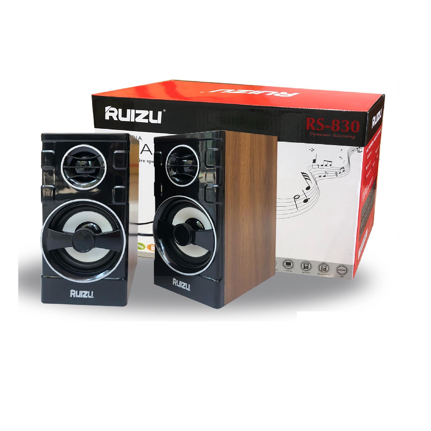 Loa 2.0 Ruizu RS-830- Hàng chính hãng