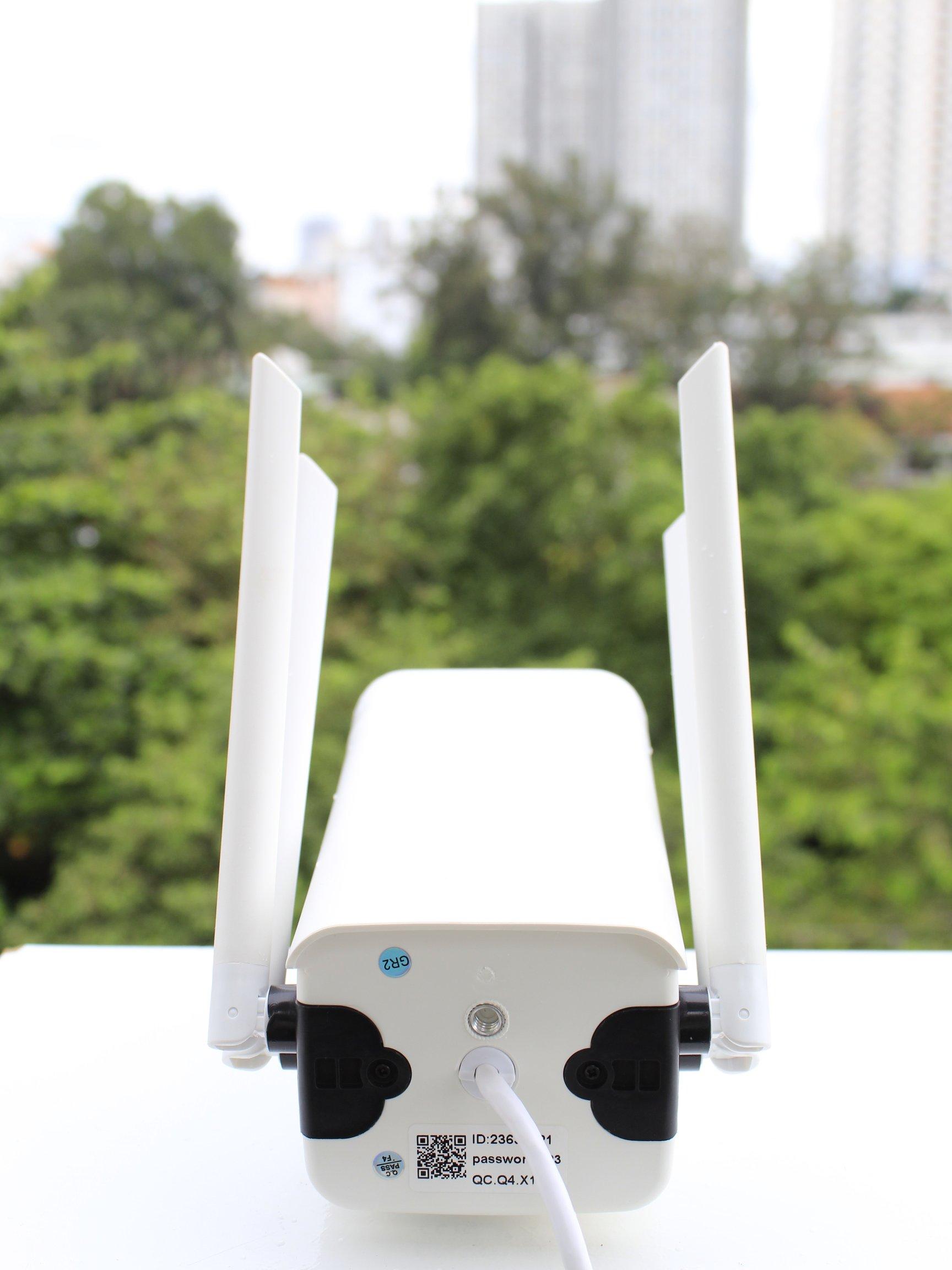Camera Ip Wifi Ngoài Trời Yoosee GW-218S Full HD 1080P Và Thẻ Nhớ Yoosee  64GB - Hàng Chính Hãng