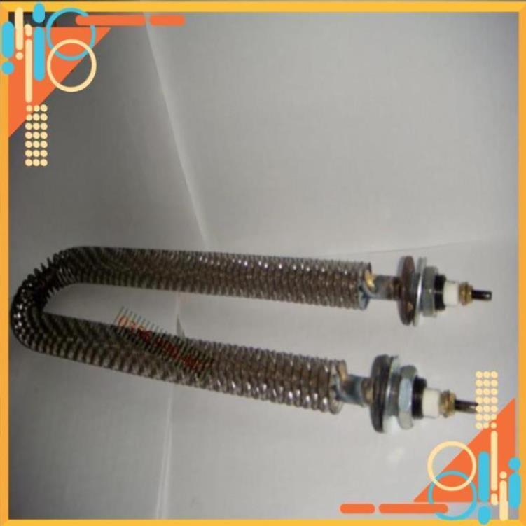 ̣̣ Điện trở sấy khô chữ U 40cm công suất  1.5KW 2KW điện áp 220V  có cánh tản nhiệt