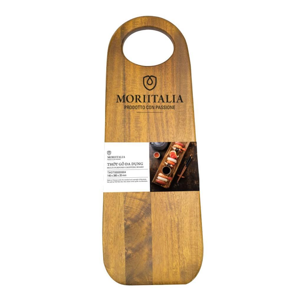 Thớt gỗ đa dụng Moriitalia 380x140x20mm