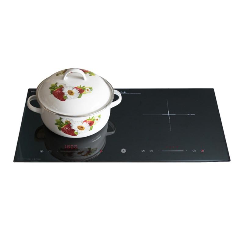Bếp từ đôi cao cấp Kachi MK75  - Hàng chính hãng