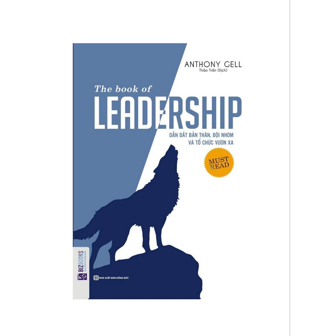 The book of Leadership - Dẫn dắt bản thân- và đội nhóm vươn xa ( tặng bút chì đầu tẩy dễ thương)