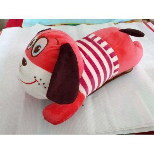 Túi Sưởi Ấm Lưng Hình Chó Dễ Thương Đa Năng - Dùng Điện - Màu Đỏ - Mẫu TSL164