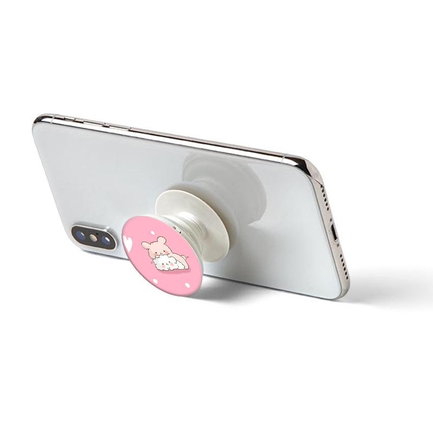 Gía đỡ điện thoại đa năng, tiện lợi - Popsockets - In hình COUPLE 06 - Hàng Chính Hãng