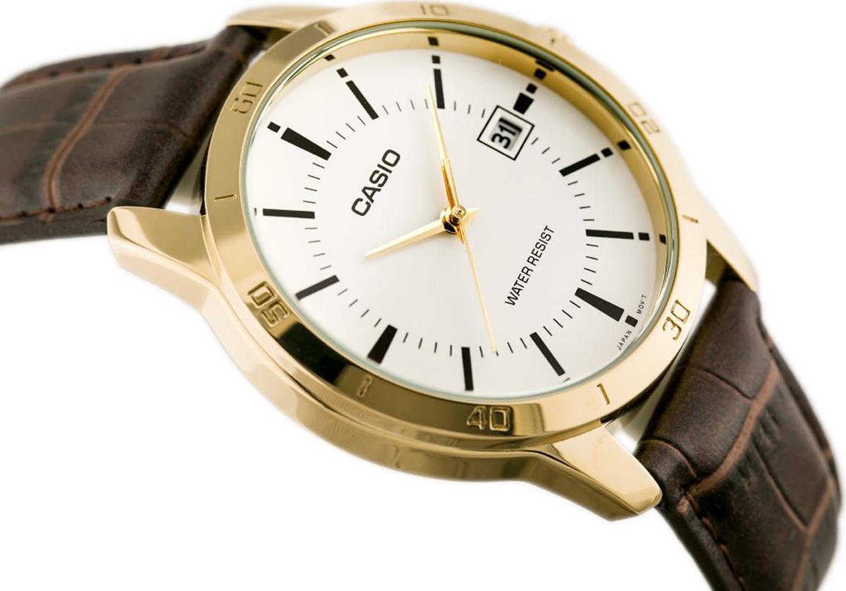Đồng hồ nam dây da Casio MTP-V004GL-7AUDF