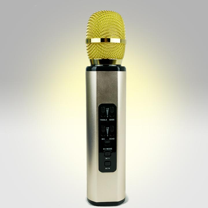 Micro karaoke  bluetooth cao cấp âm thanh chuẩn  BM06 - PF14