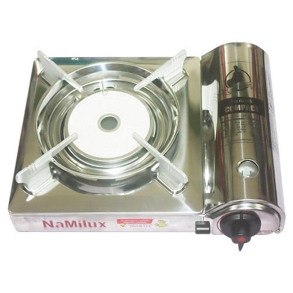 Bếp Ga Mini Hồng Ngoại Inox Namilux PM1817AS Van Inline Cut Ngắt Ga An Toàn Chống Cháy Nổ Công Nghệ Nhật Bản-Hàng Chính Hãng