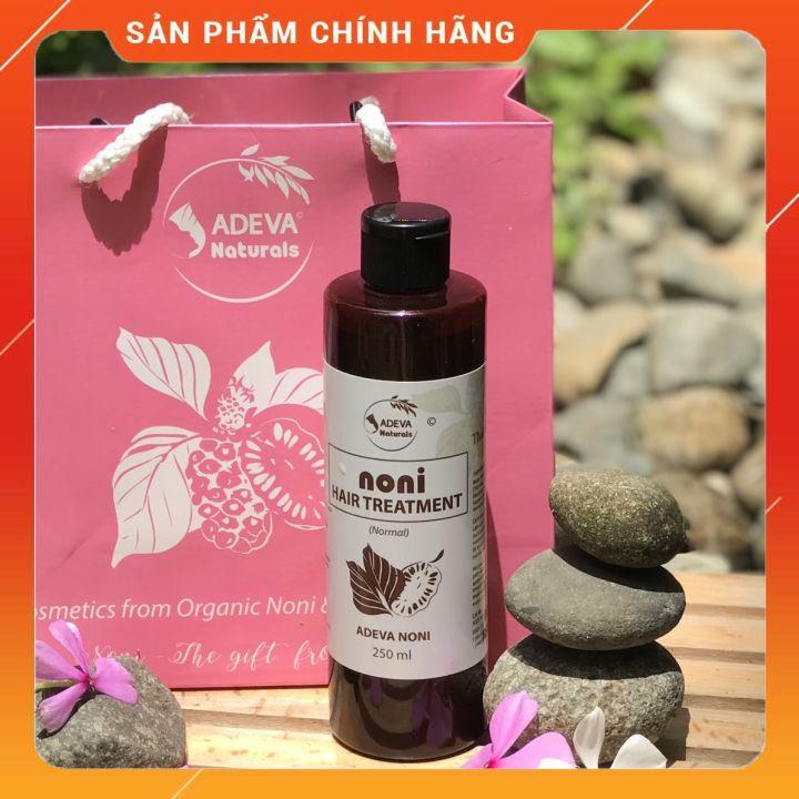 Nước gội thảo mộc Trái nhàu (có bọt) - Giảm gàu ngứa, kích thích mọc tóc từ tinh dầu thiên nhiên 250 ml - Adeva Noni