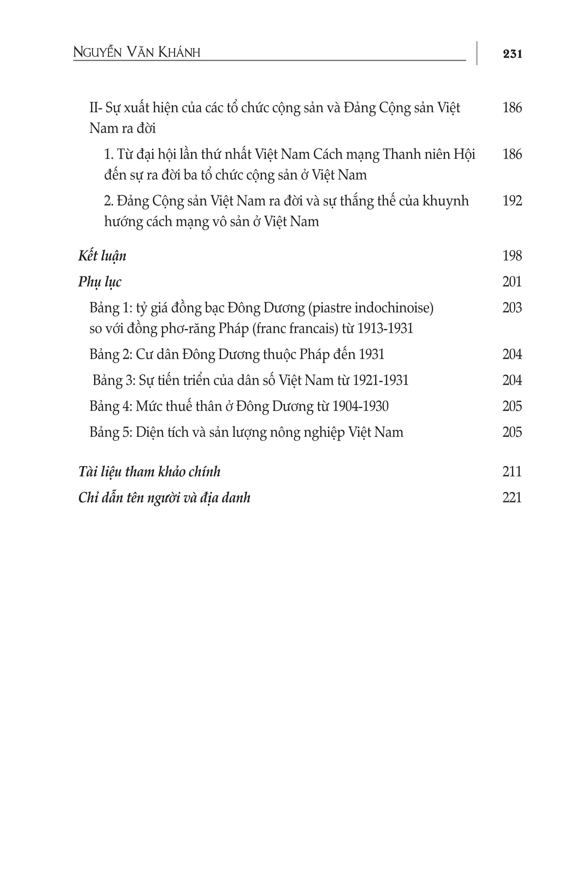 Việt Nam 1919-1930 Thời Kỳ Tìm Tòi Và Định Hướng