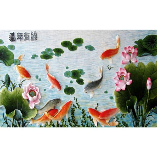 Giấy dán tường - Cá Koi - Mã 31