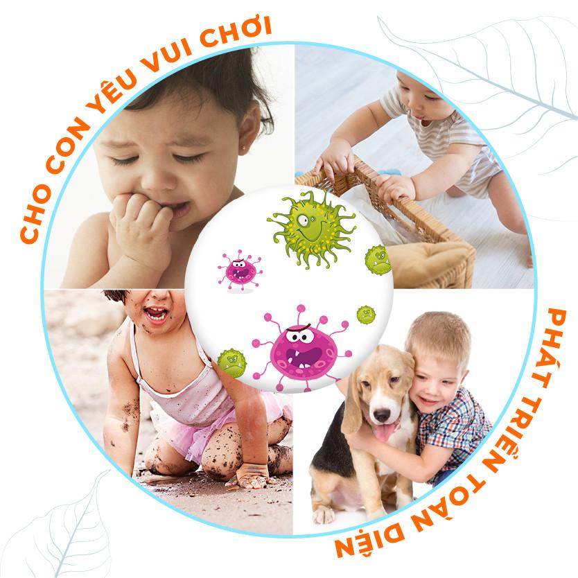 COMBO 3 chai Nước Rửa Tay Tinh Dầu Thảo Mộc Hữu Cơ Organic PK 300ml/CHAI - Tiêu diệt 99.9% vi khuẩn gây bệnh - Hương thơm tinh dầu nhẹ nhàng - Mềm mại cho da tay mẹ, an toàn cho bé.