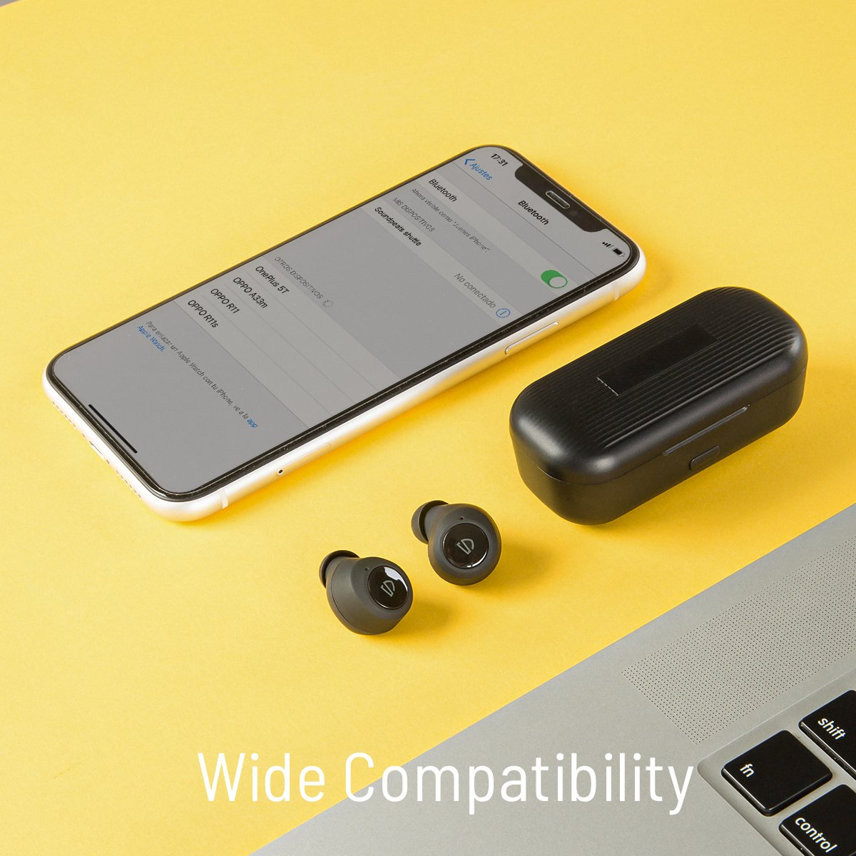 Tai Nghe TWS Earbuds SoundPeats Freedots Bluetooth 5.0, chống nước IPX7, thời gian sử dụng 16h - Hàng chính hãng