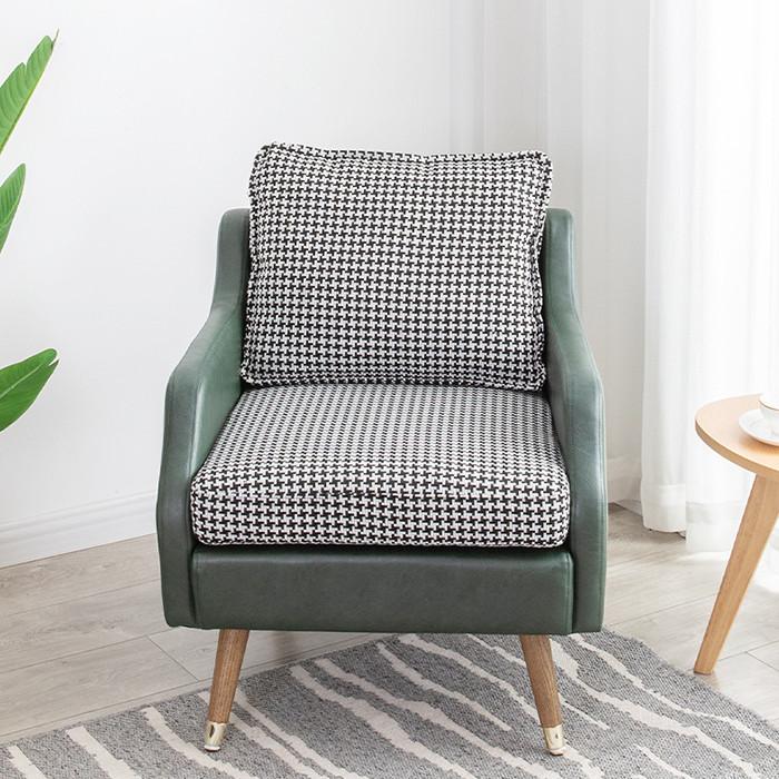 Sofa Đơn Đẹp Phong Cách Châu Âu Sang Trọng - Ghế Sofa Phòng Khách Nệm Nỉ Cao Cấp