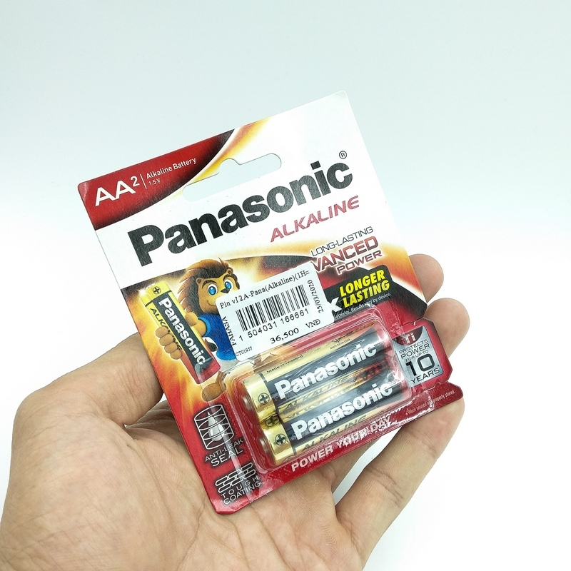 Vỉ 2 Pin Panasonic 2A