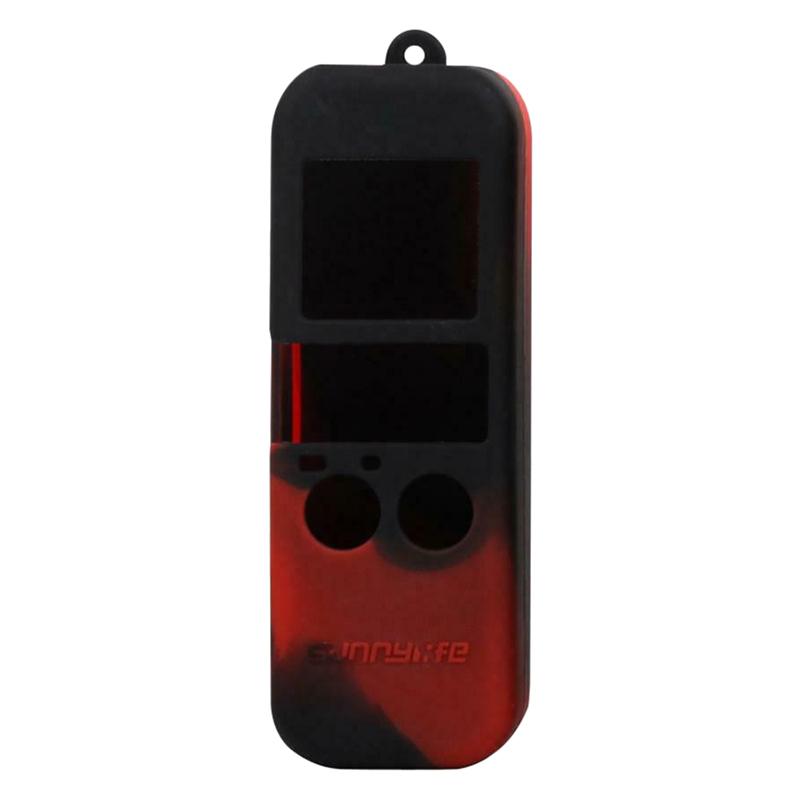 Bao Silicon Dành Cho Osmo Pocket - Đen Đỏ - Hàng Nhập Khẩu