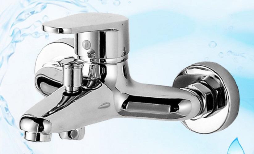 Bộ sen tắm nóng lạnh ITALIA: Củ sen cần thẳng béo hợp kim bóng + Dây, Giá đỡ, Bát sen 3 chế độ