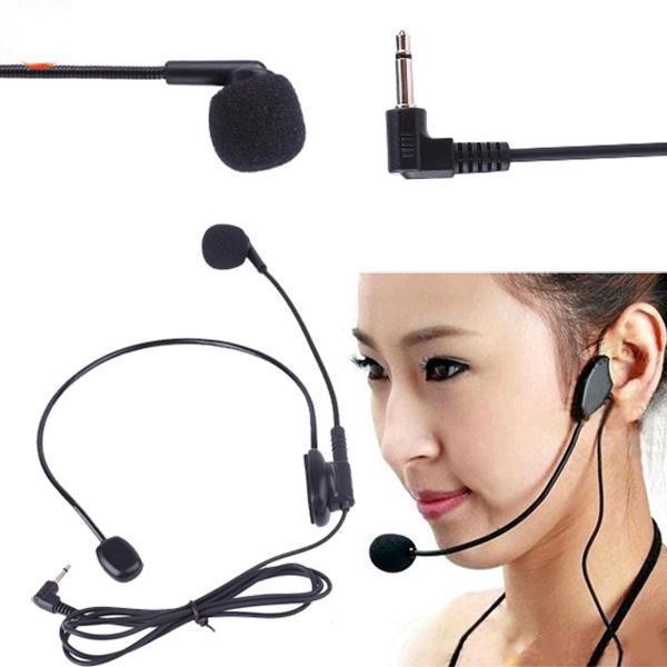 Microphone deo tai có dây giắc cắm 3.5mm