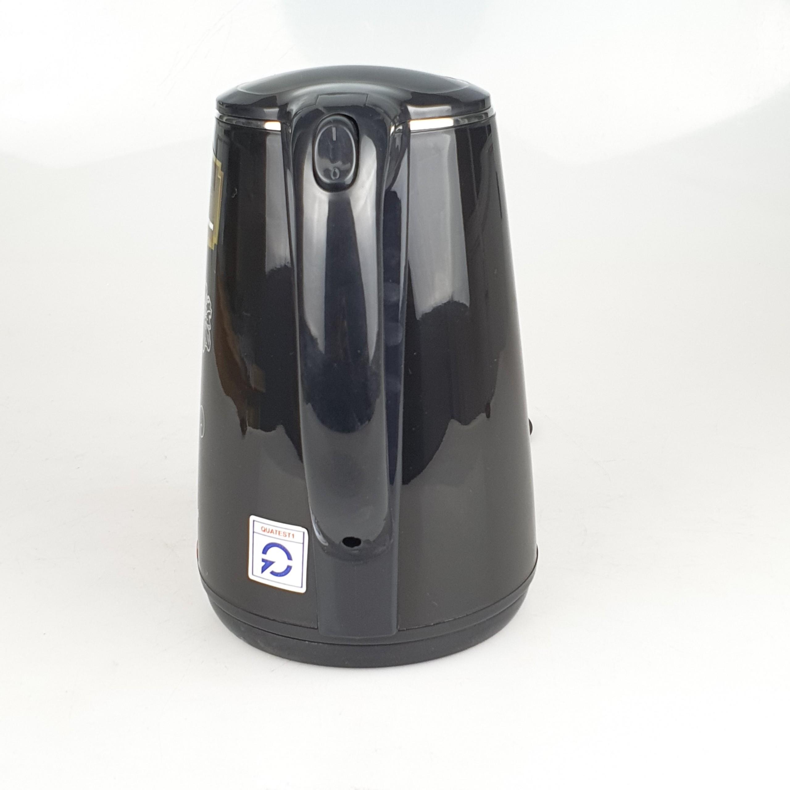 Ấm Siêu Tốc 2L Inox Matika Công Suất 1500W Đế Xoay 360 Độ Chế Độ Tự Ngắt An Toàn - Hàng Chính Hãng