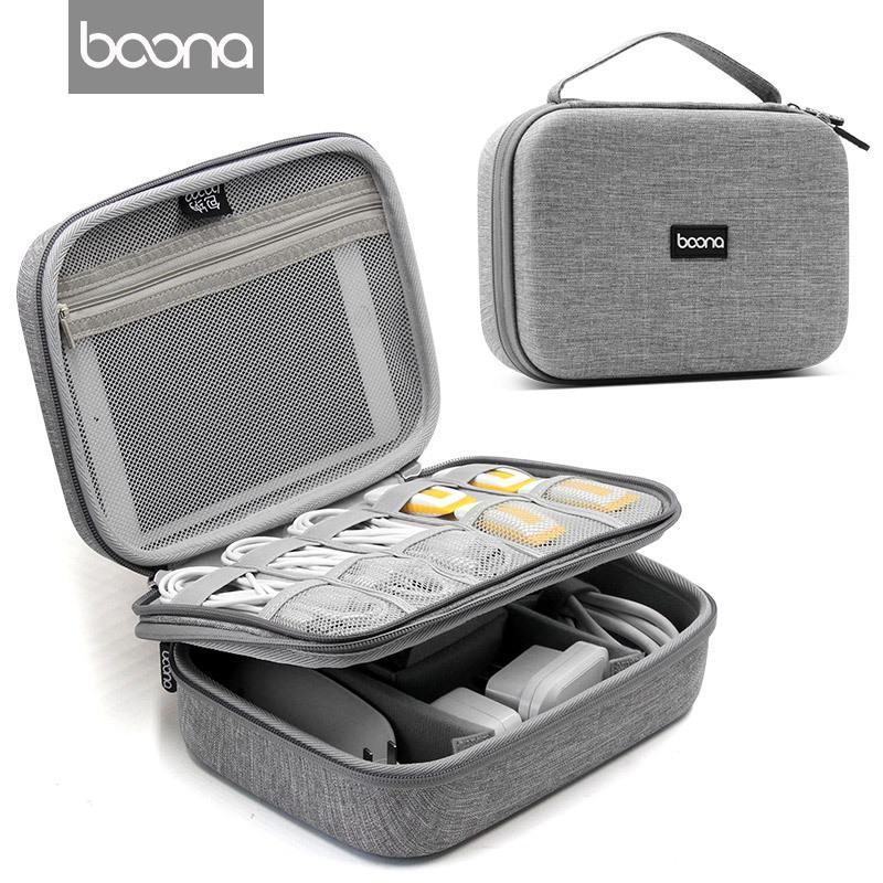 Hộp đựng ổ cứng, phụ kiện laptop điện thoại và cáp sạc dành cho Ipad mini -Hàng nhập khẩu
