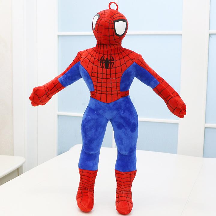 Gấu bông siêu nhân người nhện đáng yêu - Tặng khẩu trang thời trang vải Su - Gấu Bông Sóc Nhí