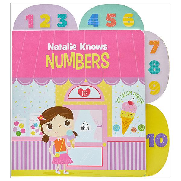 Education Tab Book Numbers