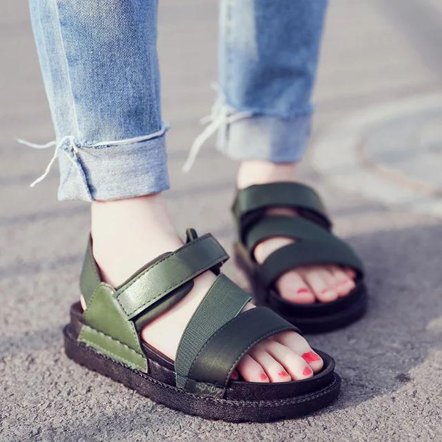 Sandal quai chéo - 6069