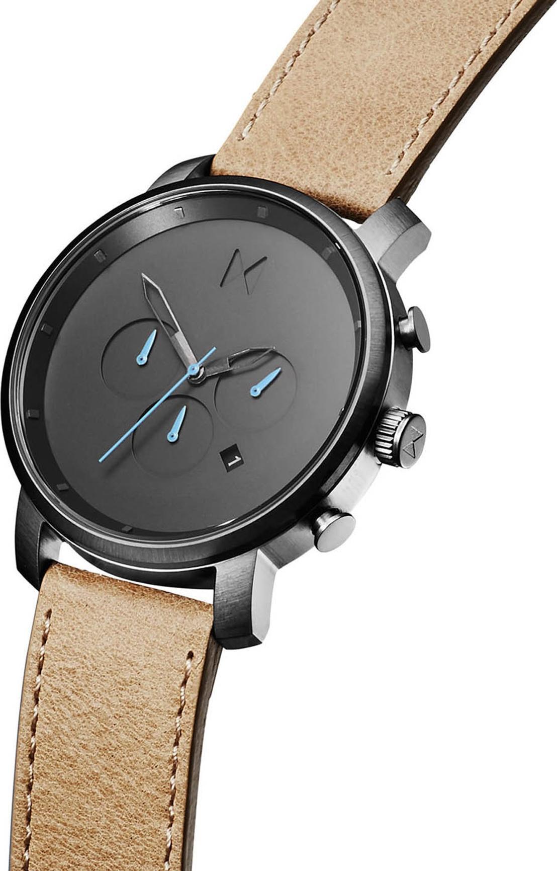 Đồng hồ Nam MVMT dây da D-MC01GML