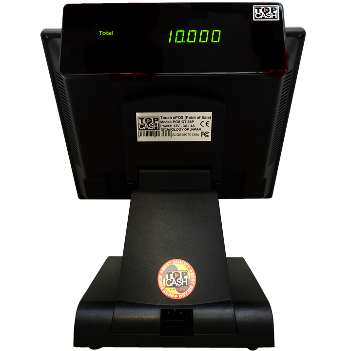 Máy tính tiền cảm ứng Topcash POS QT-66P - Hàng chính hãng