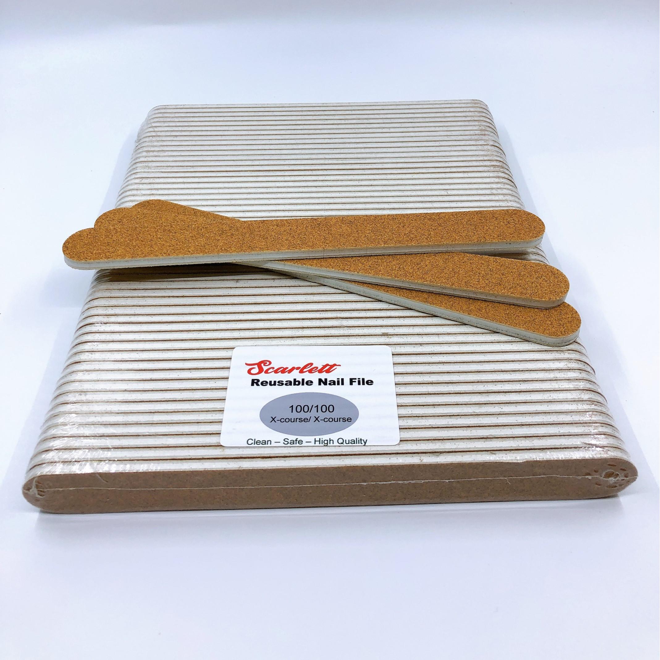 Set 50 cây dũa móng tay, dũa móng bột cao cấp Salon Pro - Độ nhám 100/100