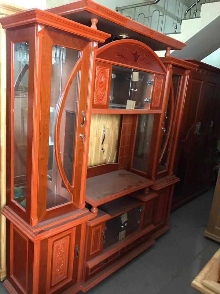 Kệ tủ  Ti vi  gỗ xoan 2m hàng chuẩn xuất khẩu