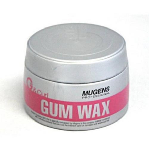 Sáp mềm giữ lọn xoăn cho tóc uốn mugens gum wax 90g