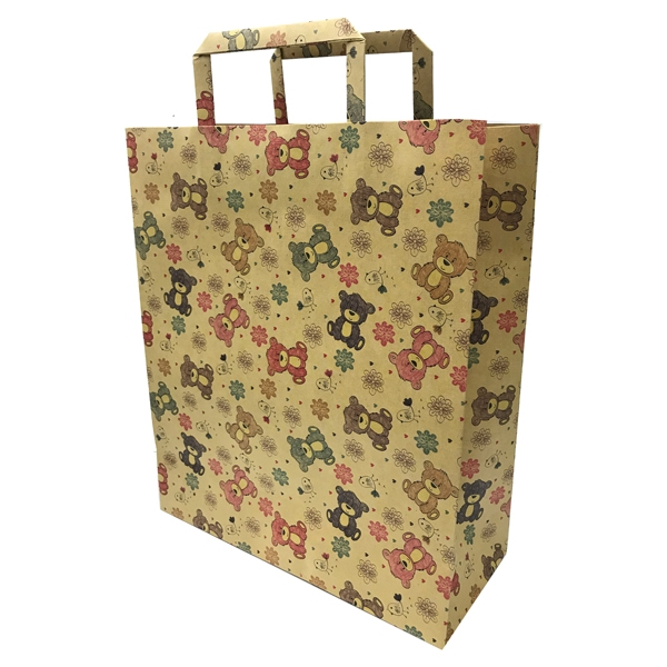 Túi Giấy Đựng Quà - Mẫu 3 - Hình Gấu