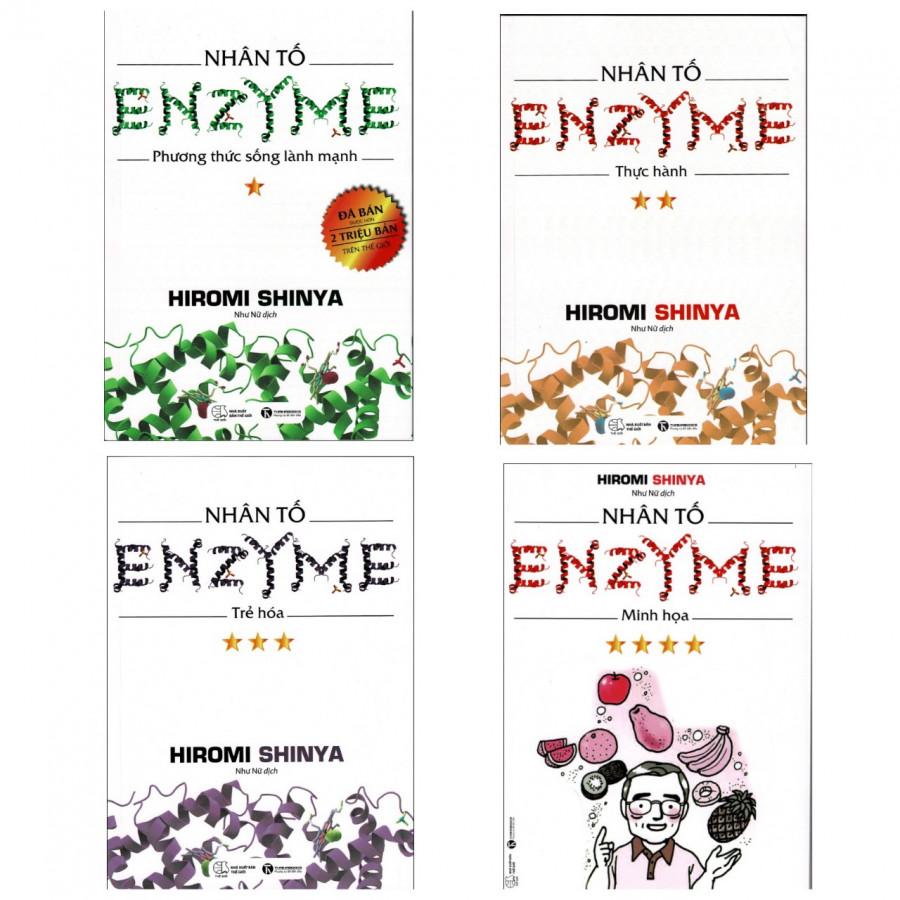 Nhân Tố Enzyme (Trọn Bộ 4 Cuốn - Tái Bản 2019)