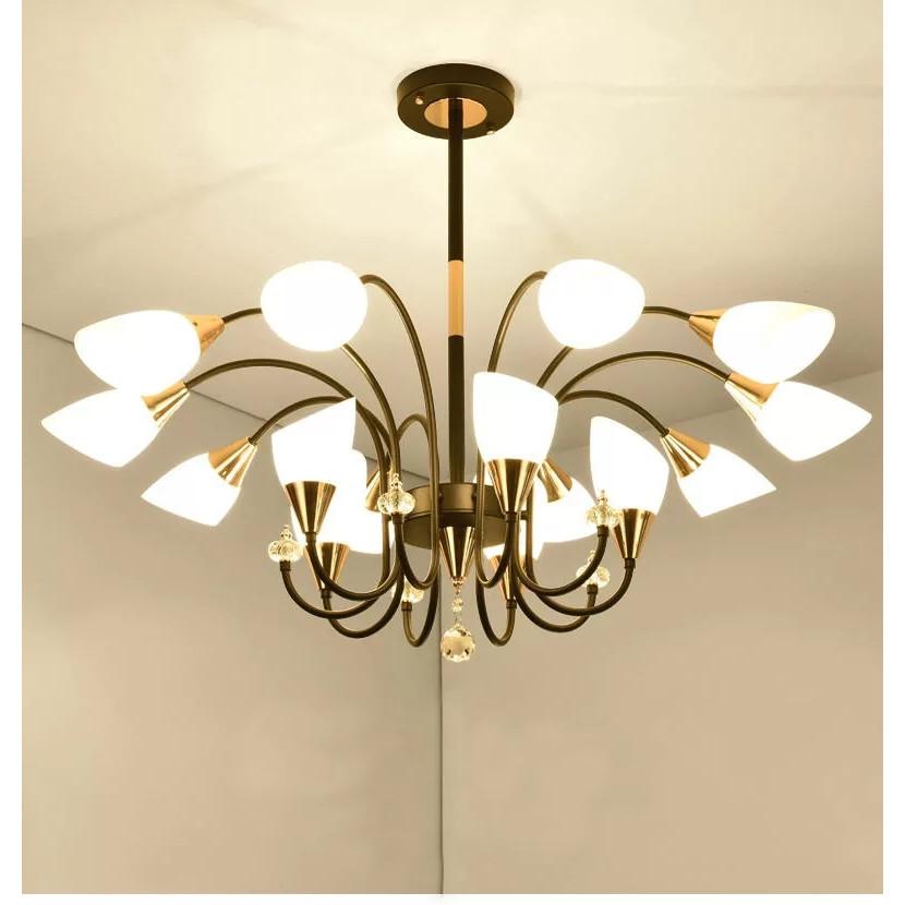 Đèn chùm - đèn trần KAIZO hiện đại dùng cho trang trí nhà cửa, quán cafe
