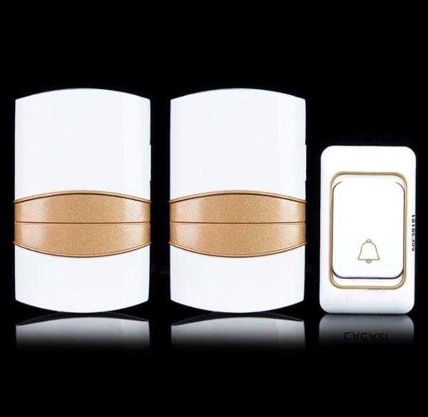 Chuông đôi không dây thông minh chống nước CazK606-2 ( Không dùng pin )