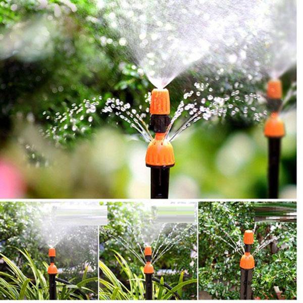 Bộ tưới cây tự động 10 cây phun sương và phun mưa