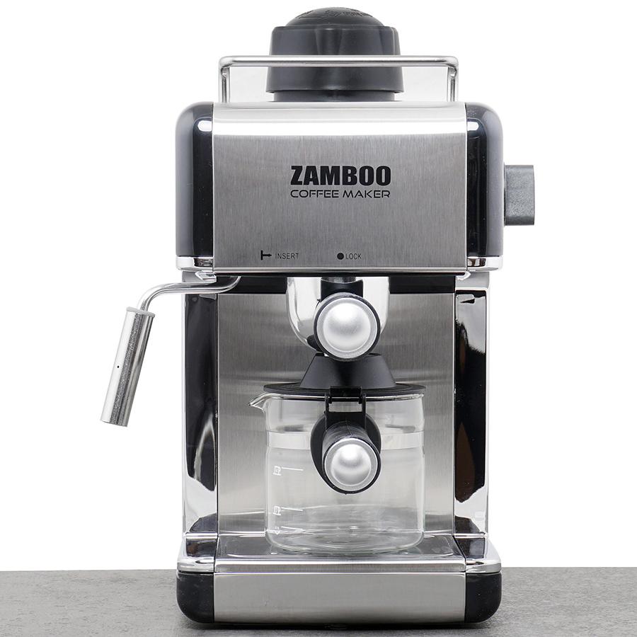 Máy Pha Cà Phê Espresso Zamboo ZB-68CF (3.5Bar) - Hàng Chính Hãng