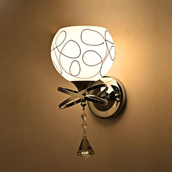 Combo bộ 2 đèn gắn tường, cầu thang, phòng ngủ kèm bóng LED