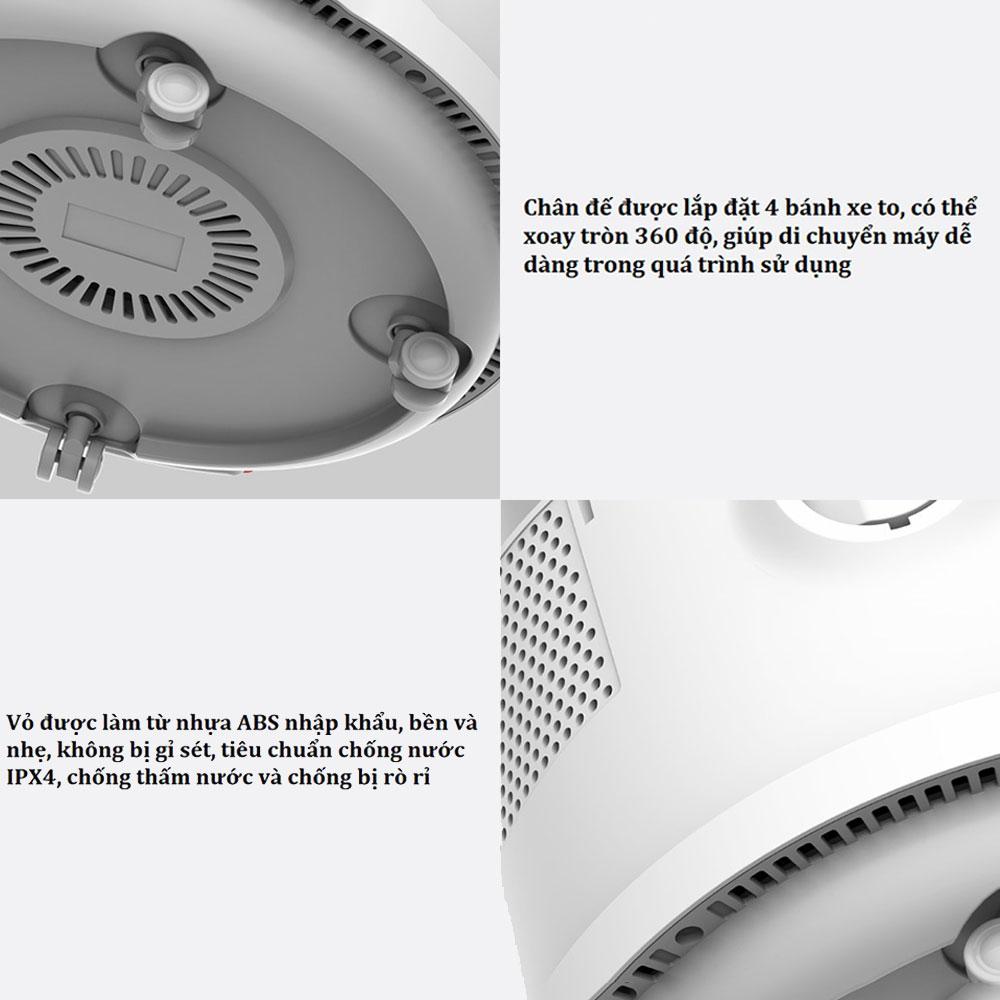 Máy hút bụi khô và ướt Xiaomi Deerma TJ200 đa chức năng, 1200W, 18KPA, dung tích 6L (nước 3.5L) - Hàng Chính Hãng