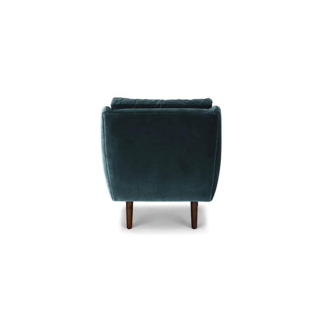 Ghế Sofa Đơn Vải Nhung Hiện Đại Juno Sofa
