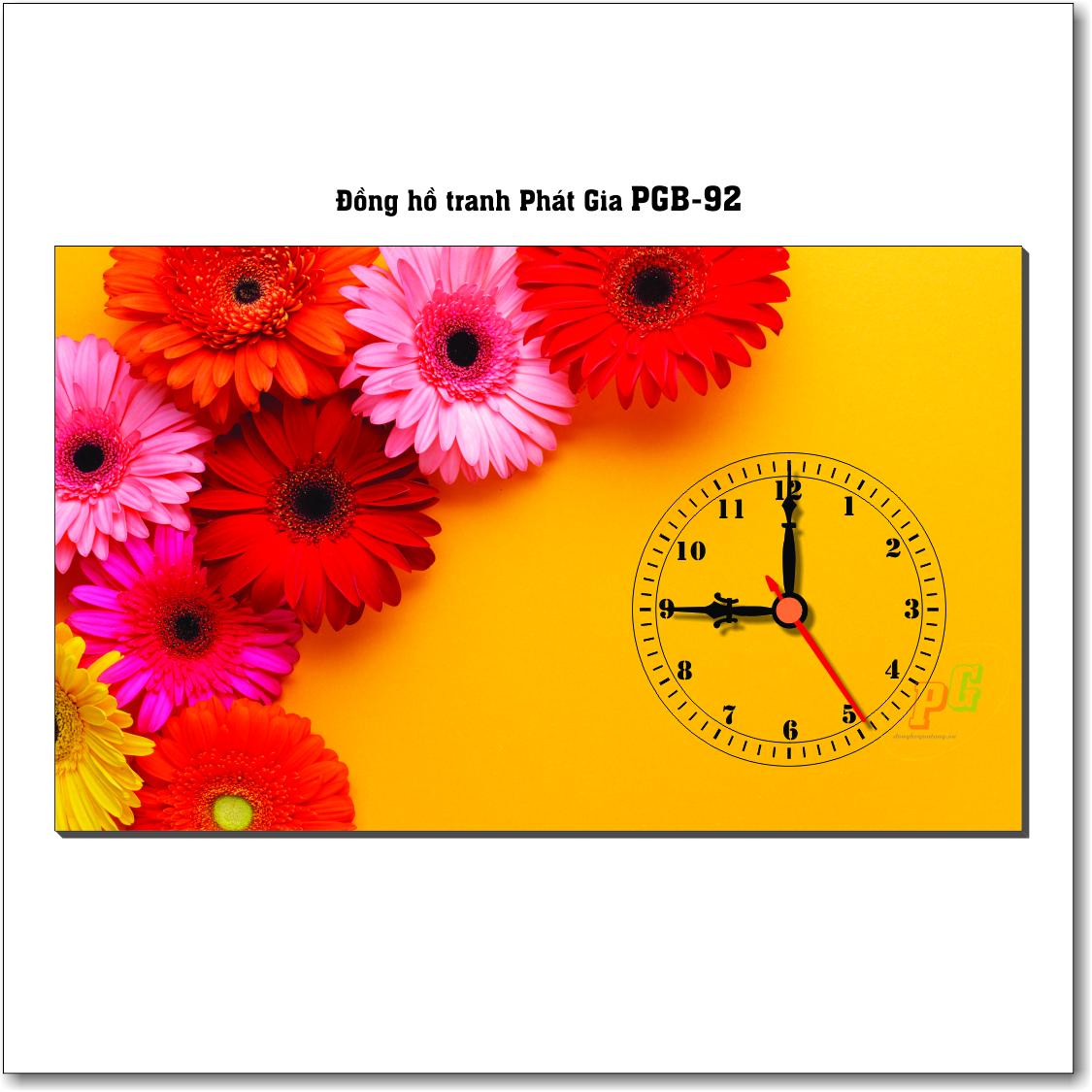 Đồng hồ tranh để bàn PGB-92