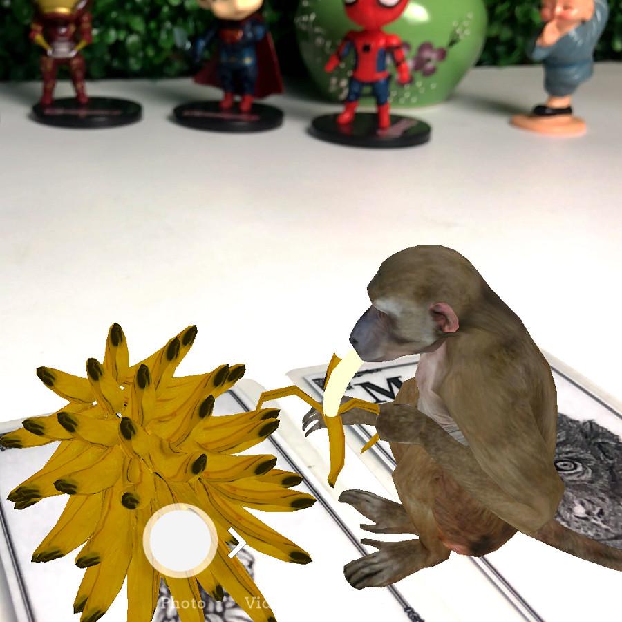 Bộ Thẻ Hình Ảnh Animal 4D Hình Con Vật (31 Mẫu Mới) Tặng Kèm Máy Chơi Game Dưới Nước - Tăng khả năng sáng tạo, khéo léo của bé