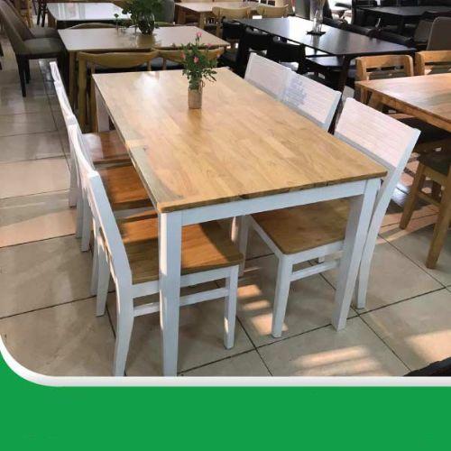 Bộ bàn ăn cherry 6 ghế