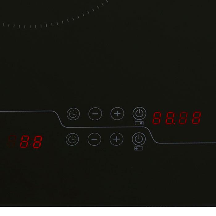 Bếp Đôi Từ Và Hồng Ngoại Whirlpool ACH7327/BLV - Đen - Hàng chính hãng