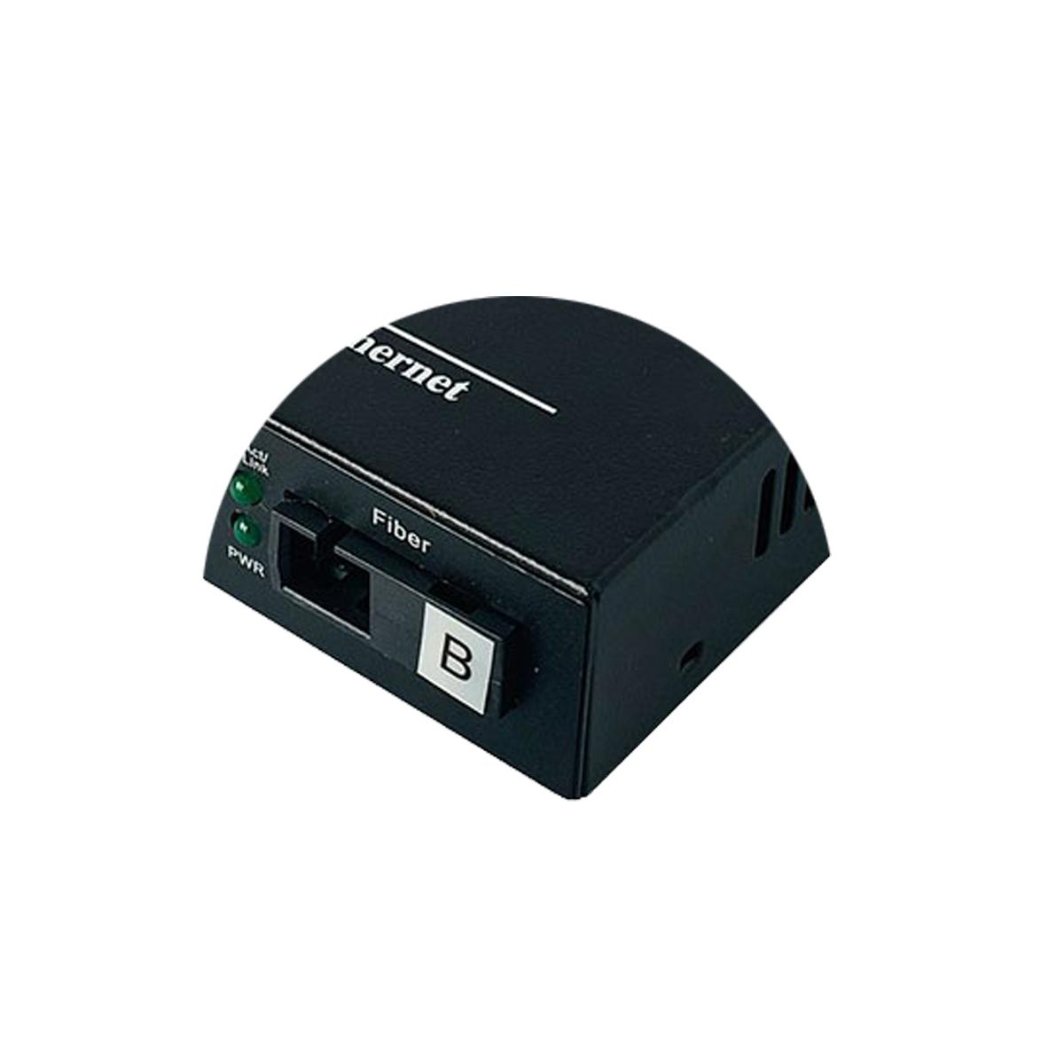 Bộ chuyển đổi quang điện POE 4xJ45 10/100M kèm cổng  SC 1 sợi GNETCOM GNC-6104FE-25B - Hàng Chính hãng