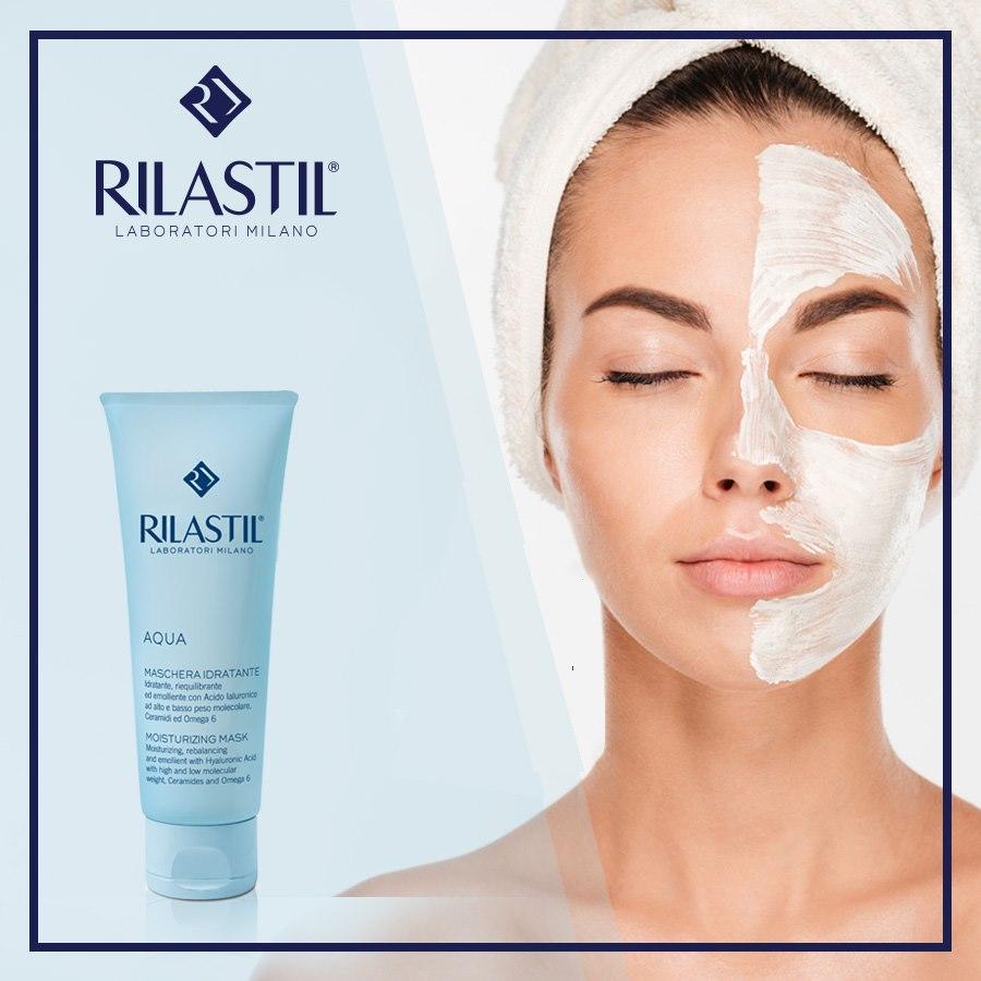 Mặt nạ dưỡng da cấp ẩm Rilastil Aqua Moisturizing Mask 75ml